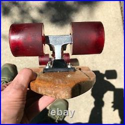 100% All Original vintage 70s Hobie Skatepark rider skateboard Bennett trucks