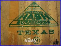 1960's Rock Rider NASH Sidewalk Skate board Surfboard Beatles British Invasion
