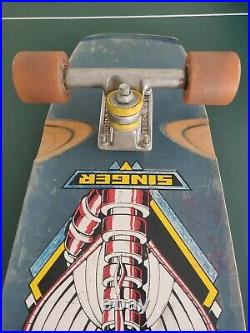 1978 Stewart Singer Variflex Skateboard Indy Stage 1 Trucks True Old School Rare