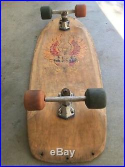 1978 Vintage Dogtown Wes Humpston Bigfoot skateboard Original Rare Lazer / YOYO