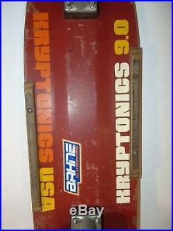 1979 Kryptonics 9.0 K-Beam Skateboard Micke Alba Malba GullWing Bahne Powell
