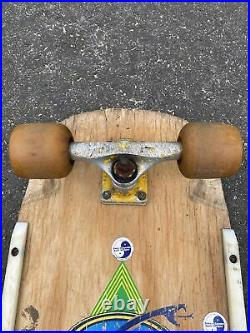 1979 Sims Lonnie Toft Snubhouse Vintage Skateboard Powell peralta wheels