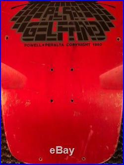 1980 Powell Peralta Alan Gelfand Skateboard Super Rare