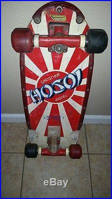 1980 Simschristian Hosoi Rookie Original Rising Sun Skateboardtracker Sixtrack