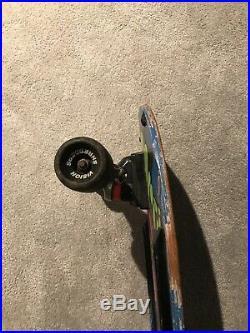1980s OG Vintage Vision Old Ghosts Hippie Stick Complete Skateboard Powell Alva
