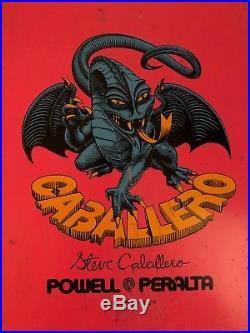 1981 Powell Peralta Steve Caballero Skateboard