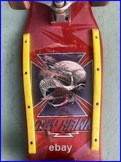 1983 Tony Hawk Powell Peralta 100% Original Vintage Skateboard MID Size