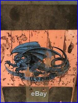 1984 OG Mike McGill Powell Peralta Vintage Skateboard Rare Pink Tony Hawk