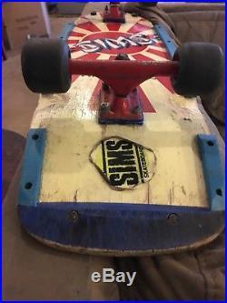 1984 Sims Kamikaze Skateboard
