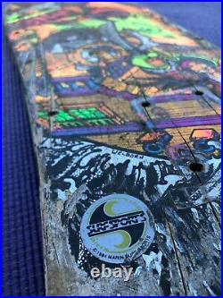 1984 Staab Sims Pirate Skateboard Deck