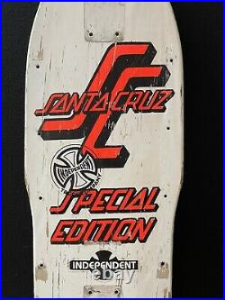 1984 Vintage OG Santa Cruz Special Edition Skateboard Deck Grosso Roskopp Salba
