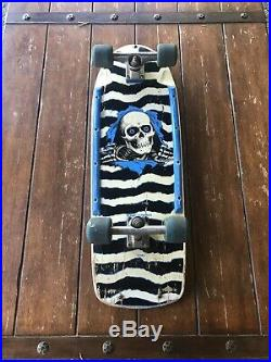 1984 original Vintage Powell Peralta Ripper complete skateboard Bones Brigade