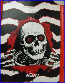 1984 rare original Vintage Powell Peralta Ripper complete skateboard Rat Bones