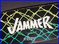 1985 Santa Cruz Jammer Skateboard