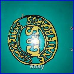 1986 G&S NEIL BLENDER COFFEE BREAK SKATEBOARD rare vintage gordon & smith vision