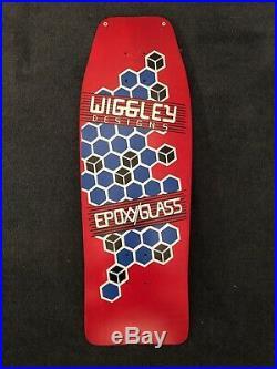 1986 Uncle Wiggley Designs NOS Skateboard Vintage