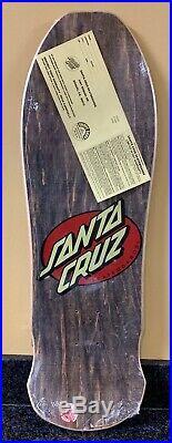 1986 Vintage Santa Cruz Rob Roskopp Face Skateboard