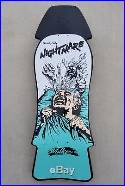 1986 Walker Mark Lake Nightmare NOS very rare vintage OG grail skateboard deck