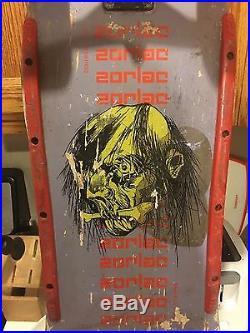 1986 Zorlac Skateboard// Speed Demond 5 // Peralta bones threes 85a // Ugly Stix