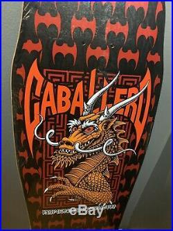 1987 Vintage Powell Peralta Steve Caballero Dragon And Bats Skateboard
