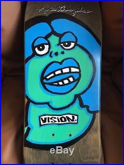 1988 Original Mark Gonz Gonzales Fat Face Rare Vintage Vision Skateboard NOS
