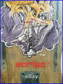 1988 Pusshead Zorlac Vintage Skateboard