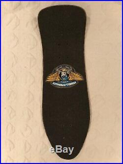 1988 Ray Barbee Powell Peralta Vintage Skateboard Mini Red/pink Stain Tony Hawk