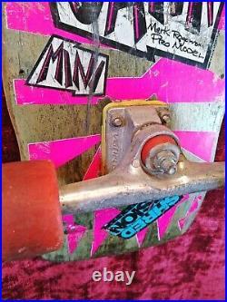 1988 / Vision / Mark Gator Rogowski / Gator II (Mini) / Complete Skateboard