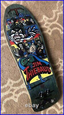 1989 NOS SMA Jim Thiebaud Joker Batman vintage Santa Cruz skateboard Natas 101