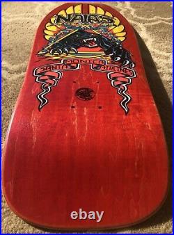 1989 NOS SMA Natas Kaupas Panther Forbes vintage Cruz skateboard deck original