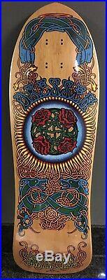 1989 Vintage Santa Cruz Eric Dressen Celtic Rose Skateboard