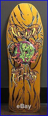 1989 Vintage Vision Ken Park Crystal Ball Skateboard