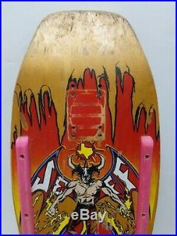 1990 Jeff Phillips BBC Devilman Skateboard Deck