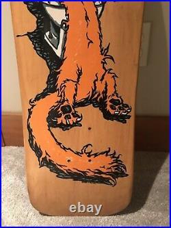 1990 Vintage Santa Cruz Bod Boyle Sick Cat NOS OG Skateboard Deck Rob Roskopp