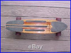 70s Vintage MAHERAJAH Skateboard STROKER Trucks SIMS Pure Juice Wheels No Res
