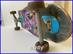 80s Eddie Reategui Vintage Skateboard Rare Alva, Venture, Toxic 95A, Cell Block