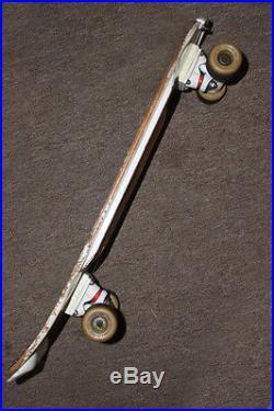 84 Signed Mike Mcgill Skateboard Original Competition Pool Skater Bones Brigade