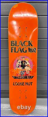 90's original vintage Focus Black Flag skateboard Hosoi
