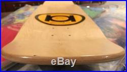 Adam Mcnatt 101 Charlie Manson Brown Skateboard Deck Nos Sean Cliver