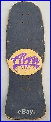 ALVA JOHN TEX GIBSON COWSKULL SKATEBOARD vintage rare zorlac powell santa cruz