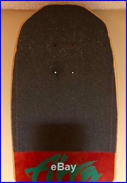 Alva john gibson tex skateboard cow skull full size near mint vintage Unused OG