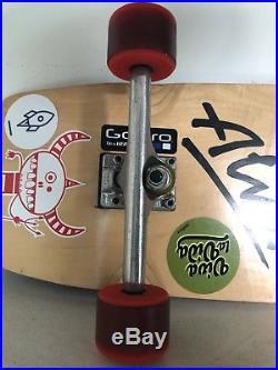 Alva skateboard deck, Tracker Trucks & Original kryptonics 60mm