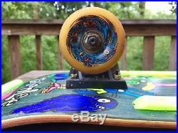 BLIND JASON LEE 1990 Skateboard Silly Animals Vintage OJII Teamrider Wheels Rare