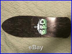 Bbc Old School Skateboard Monty Nolder Signed 1990