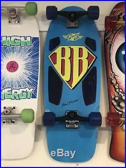 Brad Bowman Superman Skateboard Complete
