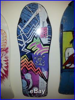 Brand X Sean Goff skateboard Rare Vintage NOS OG 80s Old School Deck