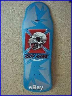 COMPLETE SET 1980's POWELL PERALTA TONY HAWK CHICKEN SKULL DECKS