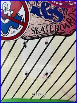 Chris Miller G & S Skateboard Vintage Eighties Deck Collectable 80s