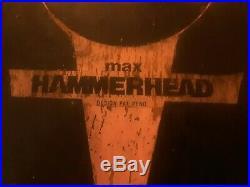 Christian Hosoi vintage rare 1980's skull skates hammerhead max skateboard