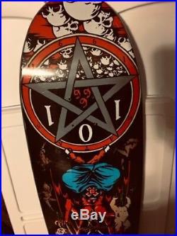 Cliche 101 Natas Kaupas Devil Worship Reissue Skateboard Deck